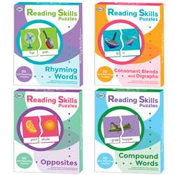 Reading Skills Puzzles Set Of All 4, DD-211005