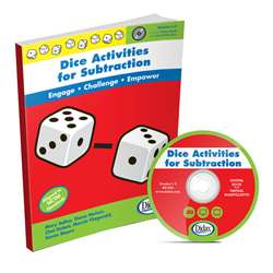 Dice Activities For Subtraction Resource Book By Didax