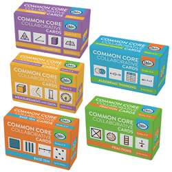 Collaborative Cards 5 Sets Gr 3-5 Common Core, DD-211262