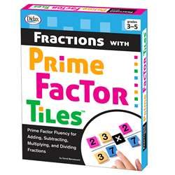 Fractions With Prime Factor Tiles, DD-211282