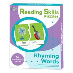 Reading Skills Puzzle Rhyming Words, DD-211295
