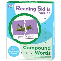 Reading Skills Puzzle Compound Word, DD-211296