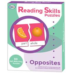 Reading Skills Puzzles Opposites, DD-211298