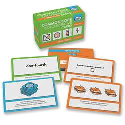 Fractions Common Core Collaborative Cards By Didax