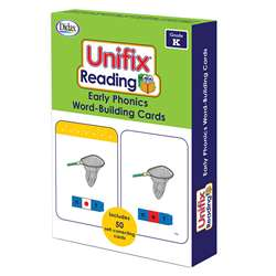 Unifix Word Building Cards Gr K, DD-211412