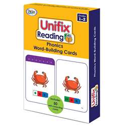 Unifix Word Building Cards Gr 1-2, DD-211415