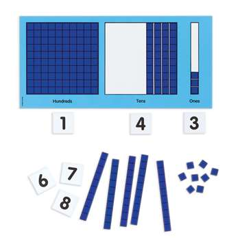 Magnetic Base 10 Place Value Set, DD-211588