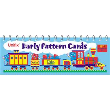 Unifix Early Pattern Book 1 Patterns In 2S By Didax