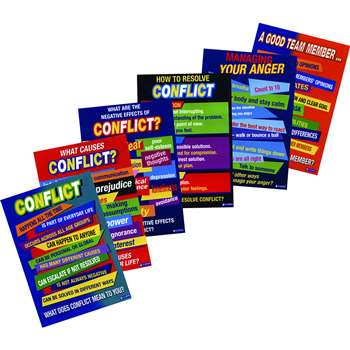 Conflict Resolution Posters Pk/6 By Didax