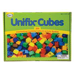 Unifix Cubes (500 Asstd Colors) By Didax