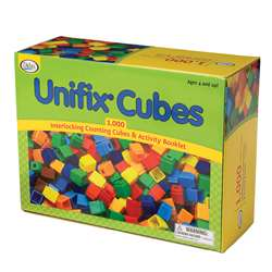 Unifix Cubes (1000 Asstd Colors) By Didax