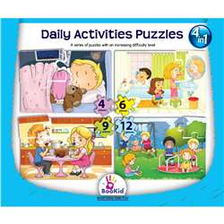 "Daily Activities 4 "" 1 Puzzles, DEX1917"