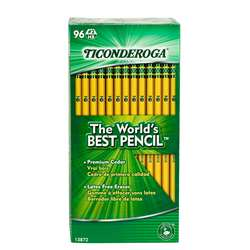 Original Ticonderoga Pencils 96Bx Unsharpened By Dixon Ticonderoga