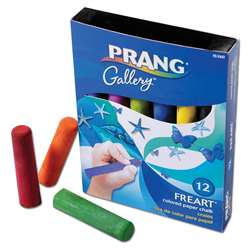 Prang Freart Artist Chalk 12 Color Box By Dixon Ticonderoga