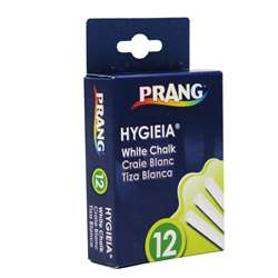 Prang Hygieia Dustless Board Chalk White By Dixon Ticonderoga