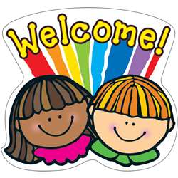 Welcome Two Sided Decorations By Carson Dellosa