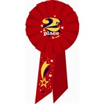 Award Rosette 2Nd Place By Diploma Mill