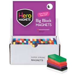 Block Magnet Display 40 Pieces By Dowling Magnets