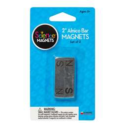 Magnet Alnico Bar 2 Inch 2-Pk By Dowling Magnets