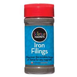 12 Oz Jar Iron Filings By Dowling Magnets