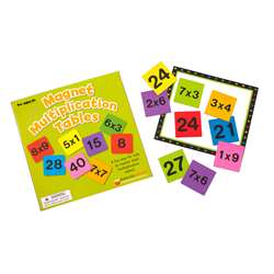 Magnetic Multiplication Tables By Dowling Magnets