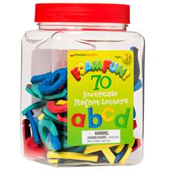 Foamfun Magnets Lowercase Letters By Dowling Magnets