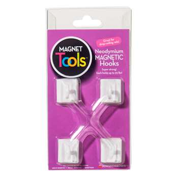Four Ceiling Hook Magnets By Dowling Magnets