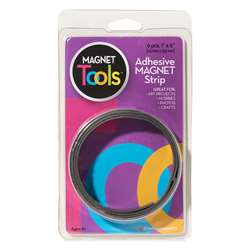 Magnet Strips W Adhesive 1X6 6 Per Pack (6 Pk), DO-735006BN