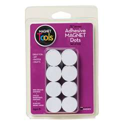 100 3/4 Dia Magnet Dots With Adhesive By Dowling Magnets