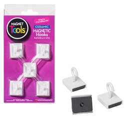 Ceramic Ceiling Hooks Set Of Five, DO-735008