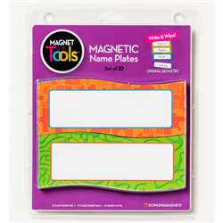 Magnetic Name Plates 20 Pieces By Dowling Magnets