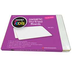 Magnetic Dry Erase Boards Set Of 5, DO-735207