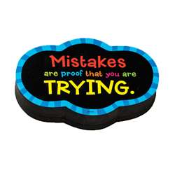 Magnetic Whitboard Mistake Quote Eraser (6 Ea), DO-735252BN
