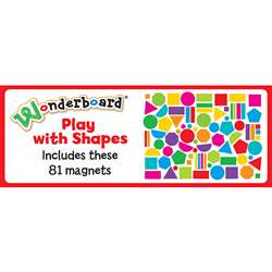 Play With Shapes Magnet Set By Dowling Magnets