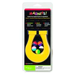 Mini Horseshoe Magnet & 5 Magnet Marbles By Dowling Magnets