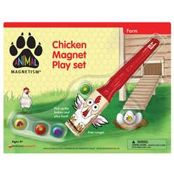 Chicken Magnet Play Set Animal Magnetism, DO-736870