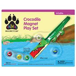 Crocodile Magnet Play Set Animal Magnetism, DO-736871