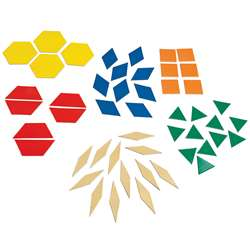 Math Magnet Pattern Blocks (6 Ea), DO-MA17BN