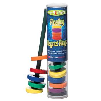 Floating Magnet Rings Ages 3 & Up By Dowling Magnets