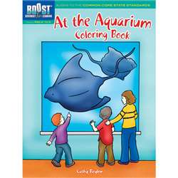 Shop Boost At The Aquarium Coloring Book Gr Pk-K - Dp-493970 By Dover Publications