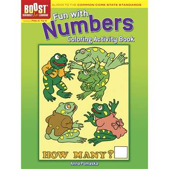 Shop Boost Fun With Numbers Coloring Activity Book Gr Pk-K - Dp-494063 By Dover Publications