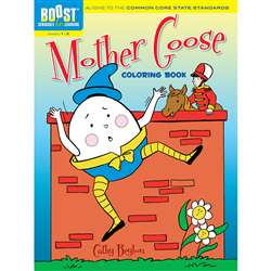 Shop Boost Mother Goose Coloring Book Gr 1-2 - Dp-494144 By Dover Publications