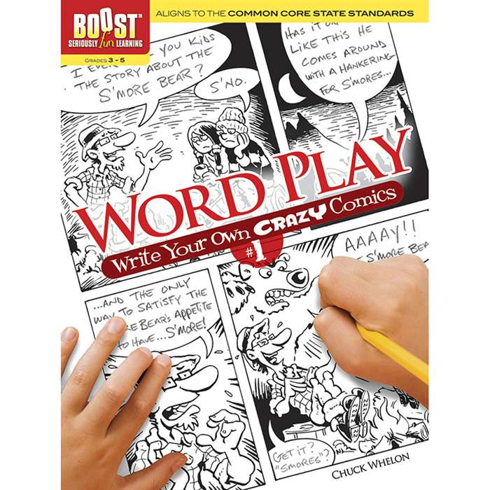 Shop Boost Word Play Write Your Own Crazy Comics No 1 - Dp-494411 By Dover Publications