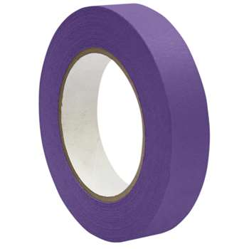 Premium Masking Tape Purple 1X60Yd By Dss Distributing
