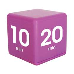 Purple 30 Minute Preset Timer Cube, DTX34