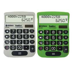 2 Line Trackback Desktop Calculator, DTXDD2361