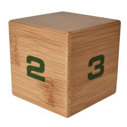 Bamboo Timecube 1-2-3-4 Minutes, DTXDFW125