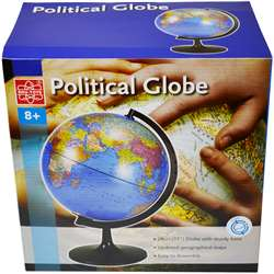 "11"" Desktop Political Globe, EE-EDU36899"