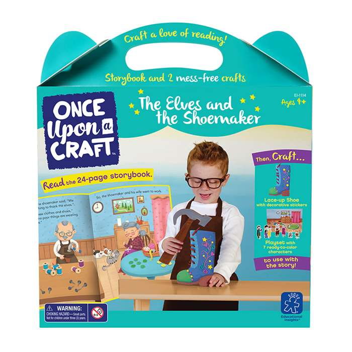 Once Upon A Craft Elves And The Shoemaker, EI-1114