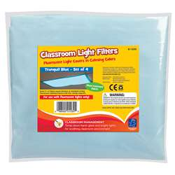Classroom Mood Filters 4/Set Tranquil Blue By Educational Insights